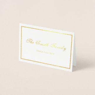 Wedding Place Card Border