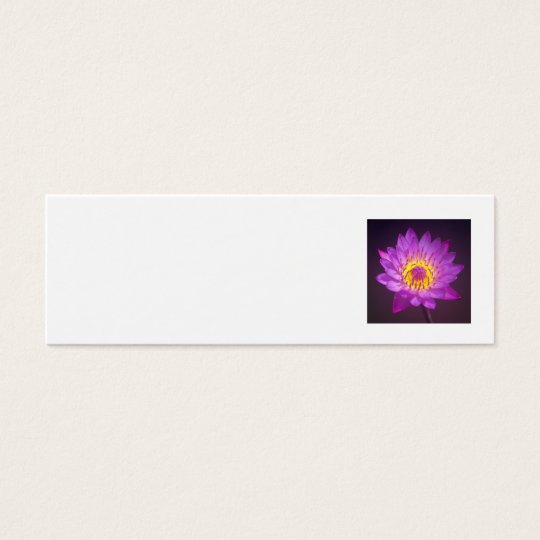 Wedding Place Name Card - lotus flower