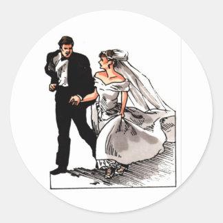 Wedding Plan 39 Round Sticker