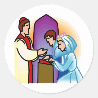 Wedding Plan 40 Round Sticker