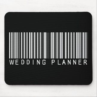 Wedding Planner Bar Code Mouse Pad