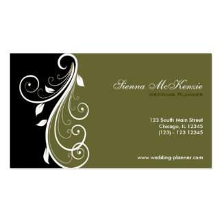 Wedding Planner Pack Of Standard Business Cards
