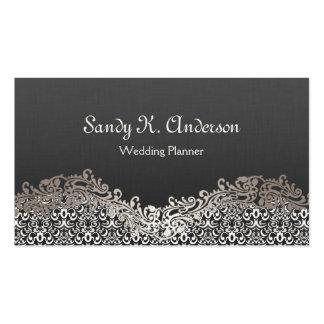 Wedding Planner - Elegant Damask Lace Pack Of Standard Business Cards
