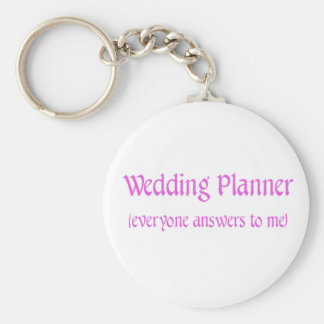 Wedding Planner Key Ring