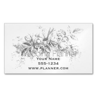 Wedding Planner Magnetic Business Cards