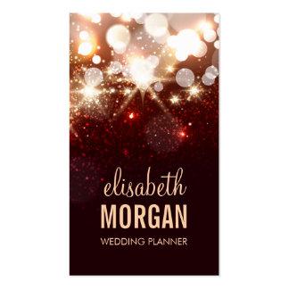Wedding Planner - Modern Glitter Sparkle Pack Of Standard Business Cards