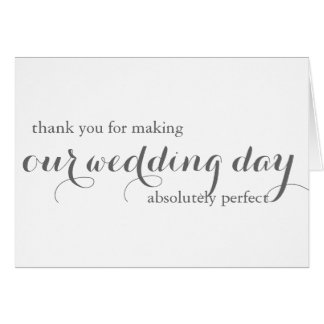 Thank You For Your Wedding Gift Cards : Thank You Cards & Invitations Zazzle.com.au
