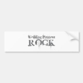 Wedding Planners Rock Bumper Sticker