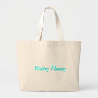 Wedding Planning Tote Jumbo Tote Bag