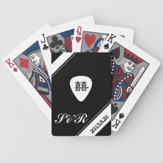 wedding playing cards