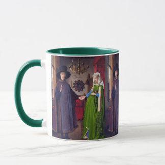 Wedding Portrait by Jan Van Eyck Mug
