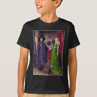 Wedding Portrait by Jan Van Eyck T-Shirt
