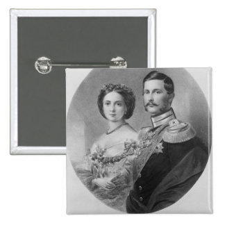 Wedding Portrait of Their Royal Highnesses Button