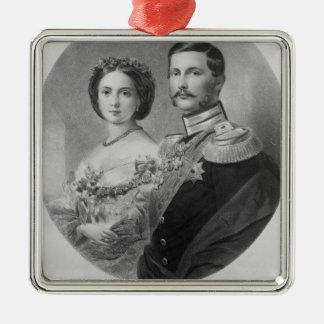 Wedding Portrait of Their Royal Highnesses Christmas Ornament