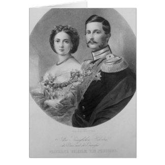 Wedding Portrait of Their Royal Highnesses Greeting Card