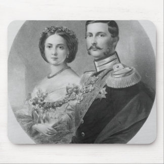 Wedding Portrait of Their Royal Highnesses Mouse Pad