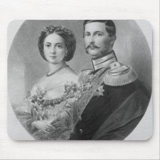 Wedding Portrait of Their Royal Highnesses Mousepad