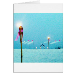 Wedding Postage Beach Scene Greeting Cards