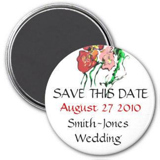 WEDDING PRODUCTS 7.5 CM ROUND MAGNET