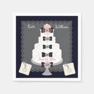 Wedding Reception/Cake PAPER NAPKINS