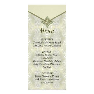 Wedding Reception Food Menu Rack Cards Wedding Reception Food Menu Rackcards