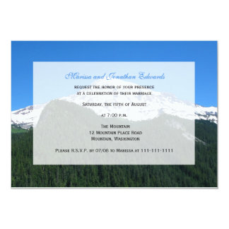 Wedding Reception Only Invitation  -- Mountain