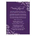 Wedding Rehearsal and Dinner Invitations | Purple