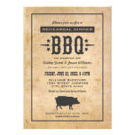 Wedding Rehearsal Dinner | Backyard BBQ Theme Personalised Invitations