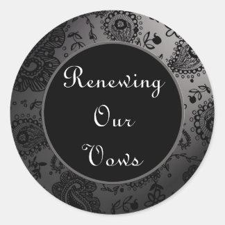 Wedding Renewal Stickers