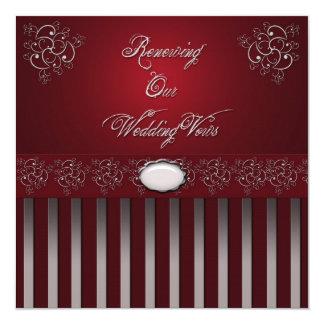 Wedding RENEWAL VOWS CEREMONY INVITATIONS