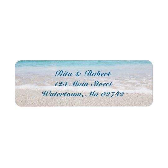 Wedding Return Address Labels - Ocean I