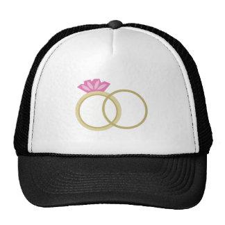 Wedding Rigns Cap
