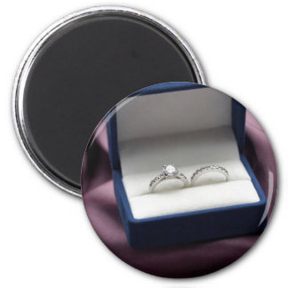 Wedding Ring Set 6 Cm Round Magnet