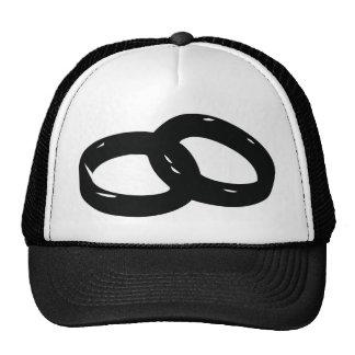 wedding rings cap