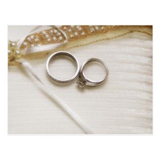 Wedding Rings Postcard