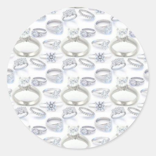 Wedding Rings Sticker