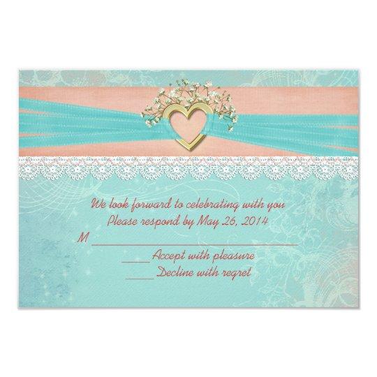 Wedding Romance RSVP Card