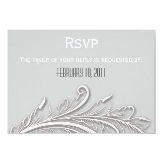 Wedding RSVP 9 Cm X 13 Cm Invitation Card