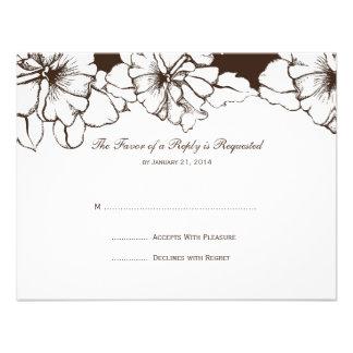 Wedding RSVP Cards Announcement