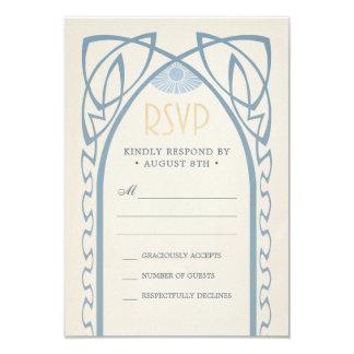 Wedding RSVP Cards | Vintage Nouveau