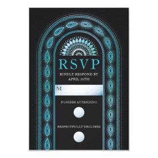 Wedding RSVP Cards | Viridian Bliss