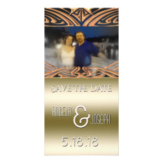 Wedding Save the Date Announcement | Save Our Date Personalised Photo Card