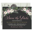 Wedding Save the Date Card | Fall Vintage Boho