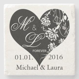 Wedding Save the Date Personalized stone coasters Stone Beverage Coaster