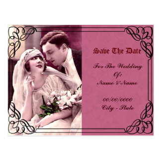 wedding,save the date postcard