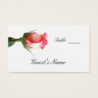 Wedding  Seating Card Template