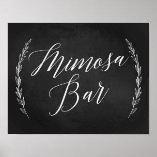 Wedding Sign – Mimosa Bar Wedding Chalkboard Sign