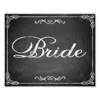 Wedding signs chalkboard Bride