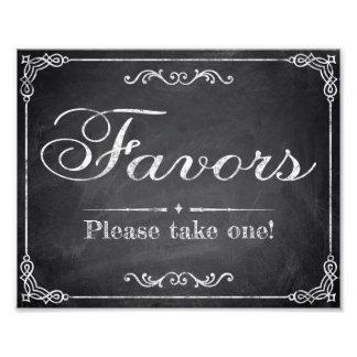Wedding signs - chalkboard - Favors -