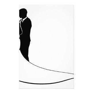 Wedding Silhouette Bride and Groom Customised Stationery